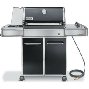 Weber Genesis E-320 Natural Gas BBQ Grill - Black