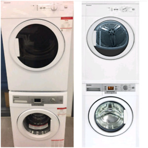 Blomberg apartment size washer and dryer