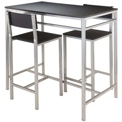 Winsome Hanley 3 Piece Counter Height Dining Set in