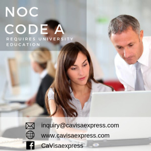 Visa and Immigration Services including NOC 0, A, B