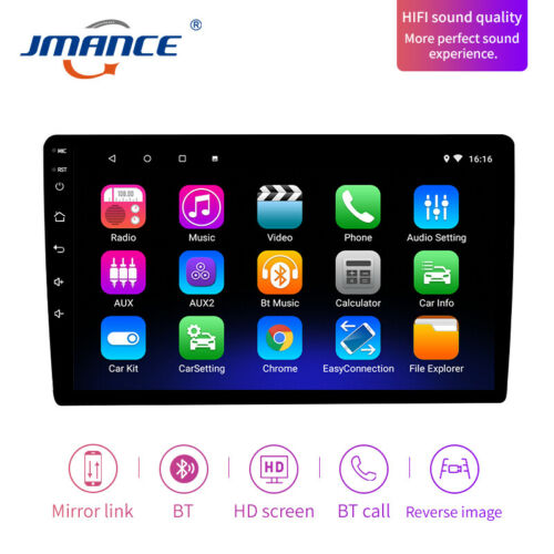 Touch Screen 2 Din 10 Inch Android 9 Car Stereo ***REARVIEW CAMERA INCLUDED!!***