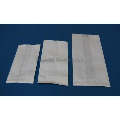 Bags Paper for Food Size 17 X 35 White Carton