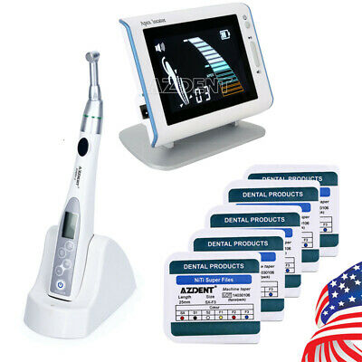 Us Dental 161 Led Endo Motor Cordless Handpiece 5box Super Files Apex Locator