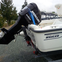 Mercury 150 Saltwater Optimax Outboard 260 Hours For Sale