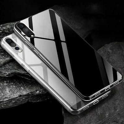 Silikoncase Transparent Ultra dünn Case für Huawei P20 Lite Cover Hülle Tasche