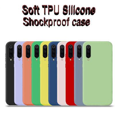 For Xiaomi Mi A1 A2 A3 8 Lite 9 SE Slim Soft TPU Silicone Shockproof Case Cover