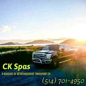 Spa transportation and services