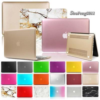 - Frosted Matte Rubberized Hardshell Hard Case Cover For Apple MacBook Air / Pro