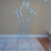 Metal Wire Mannequin Figure - Full Male Athletic Shape
