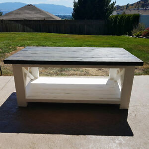 Taking orders for rustic handmade coffee tables & entry tables