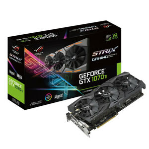 ASUS ROG Strix GeForce® GTX 1070 Ti 8GB GDDR5 - Almost New