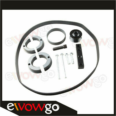 For Audi S4 S5 A6 A7 3.0 TFSI Supercharger Pulley Install And Upgrade Kit
