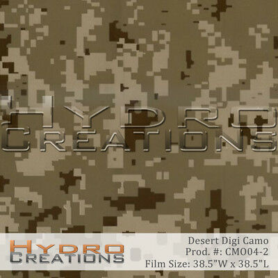 Hydrographic Film For Hydro Dipping Water Transfer Film Desert Digi Camo