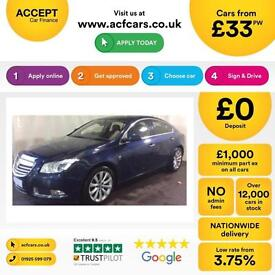 Vauxhall/Opel Insignia 2.0CDTi 16v ( 160ps ) FROM £33 PER WEEK!