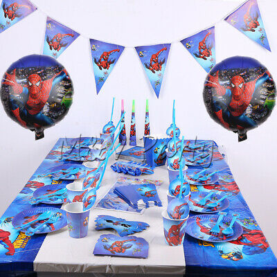 Birthday Party Decoration Boys Favor Tableware Tablecloth (Super Hero Party Favors)