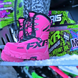 Pink FXR Womens X Cross Boots