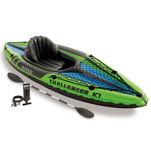 Camping Inflatable Kayak Canoe Set Gonflable 11015