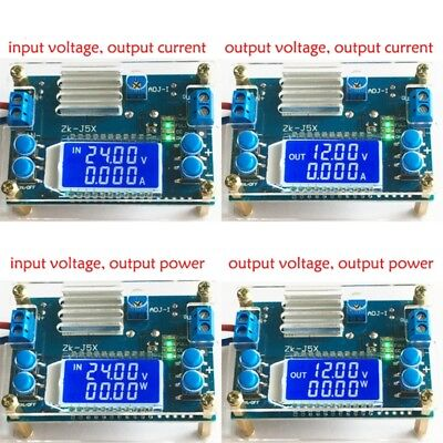 Dc-dc 5a Cnc Step-down Module Constant Voltage Constant Current With Lcd Dispaly