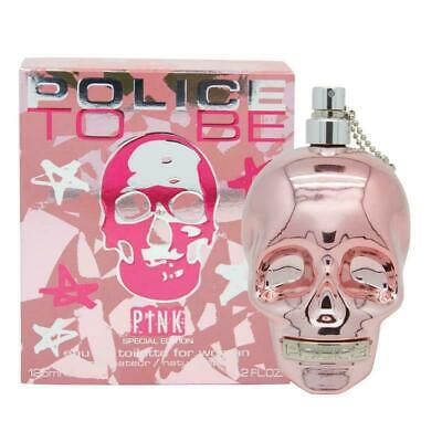POLICE TO BE PINK 125ML EAU DE TOILETTE SPRAY BRAND NEW & SEALED FOR HER