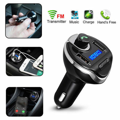 Auto Bluetooth FM Transmitter MP3 Player USB Stick KFZ SD AUX Freisprechanlage
