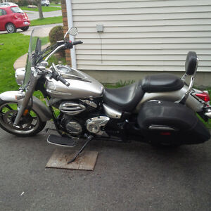 Yamaha V-Star 950cc always cared for.