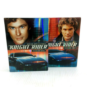 Knight Rider DVD Complete Season 1 & 2 Box Sets 80s Television