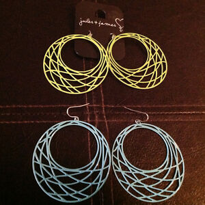 2 Pairs Of Jules And James Earrings