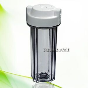 Contemporary Clear Water Filter Housing Standard 10
