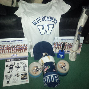HUGE WINNIPEG BLUE BOMBER LOT. ALL BRAND NEW WITH TAGS