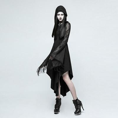Spider web lace sleeves women dress ()