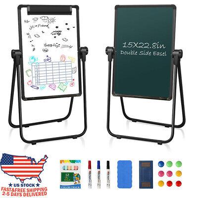 1522.8 Dry Erase Board Magnetic Whiteboard U-stand Easel Double Side Board