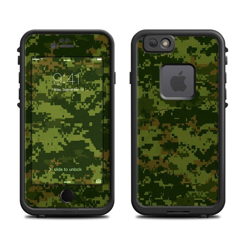 Skin for LifeProof FRE iPhone 6/6S - CAD Camo - Sticker Decal