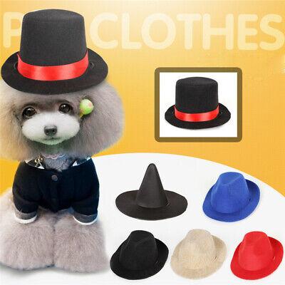 Pet Dog Cute Hat Magic Witch Cowboy Cap Headdress Puppy Festival Cosplay Costume - Cute Witch Hat