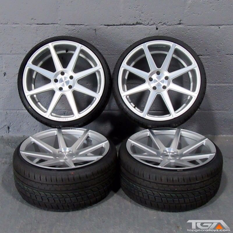 """20"""" New Ex Stock Staggered Ispiri ISR8 For A VW Passat CC"""