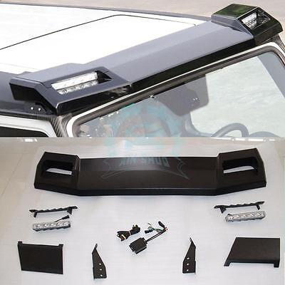 Car ROOF SPOILER 6x6 with LED DRL Light Bar For Mercedes-Benz W469 G-class G63