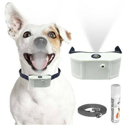 Rechargeable Citronella No Bark Dog Training Collar, No Shock, Water