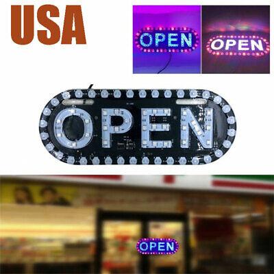 Open Sign Neon Led Light Bulb Handmade Commercial Lighting Business Shop Hhtt
