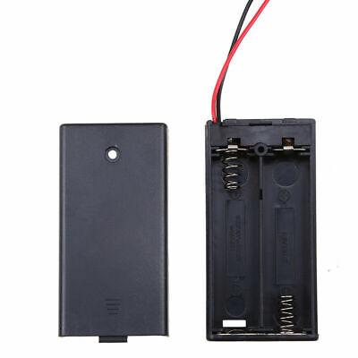 2x Aa2x Aaa Battery Holder Box Dc Case W Wire Lead Onoff Switch Cover Lid Us