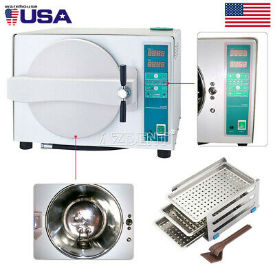18l Dental Sterilizer Dry Function Sterilization Autoclave Steam Automatic