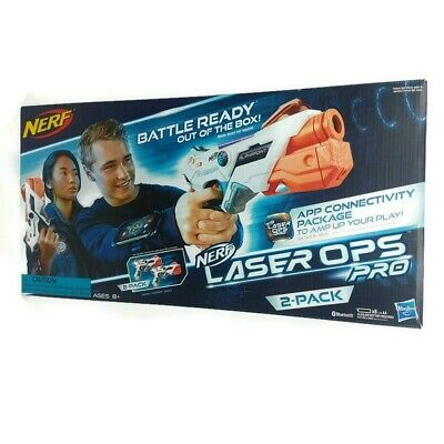 NERF Laser Ops Pro 2 Pack Alphapoint Lazer Tag Indoor Outdoor New Free Shipping