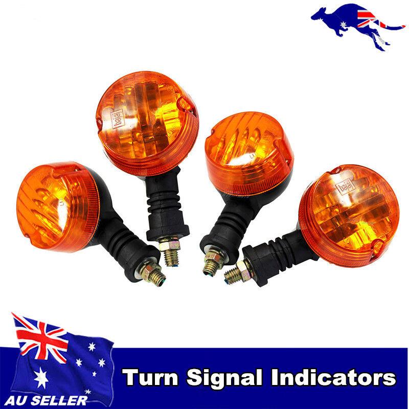 4X LED Turn Signals Indicator 4 Yamaha V-Star XVS 250 650 950 1100 1300 XV1600