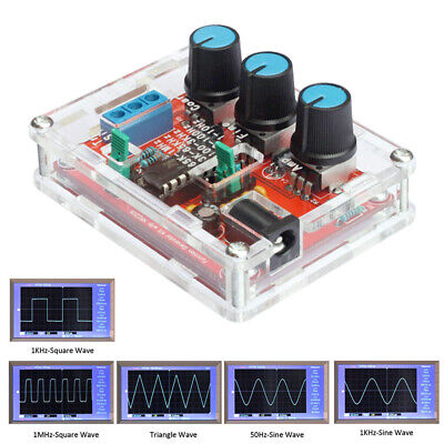 Xr2206 Function Signal Generator Diy Kit Sine Triangle Square Output 1hz-1mhz