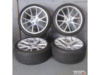"19"" Staggered Veemann V-FS23 Alloy Wheels for an Audi A4, A3 MK2 MK3 VW Jetta, Golf MK5, MK6, MK7"
