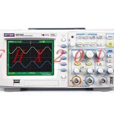 Brand New Atten Ads 1042c Digital Oscilloscope 40mhz 2 Channels 500msas