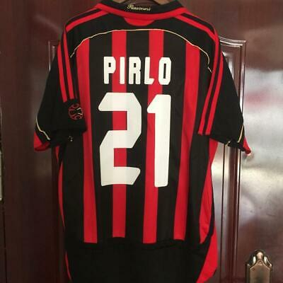 2006-07 AC Milan jersey Kaka Martini Pirlo Inzaghi retro football