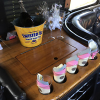 18 PASSENGER LIMO PARTY BUS STAGS/STAGETTES, GRAD LIMO