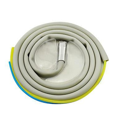 Ce Dental Silicone Tubing Hose For Air Turbine Motor Handpiece Connector 2 Holes