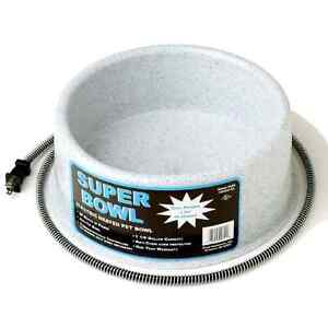 Outdoor Electric Animal Bowls and Electric Mat