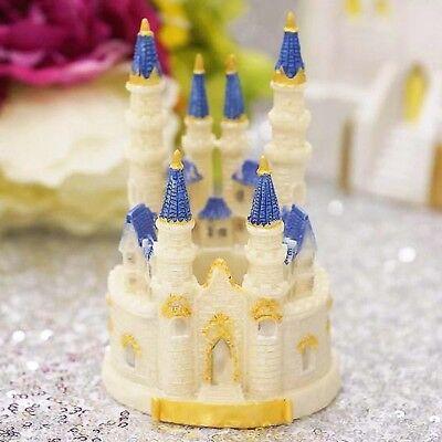Cinderella Fairy Tale Castle Wedding Birthday Cake Top Center Piece Decor Top Sm ()