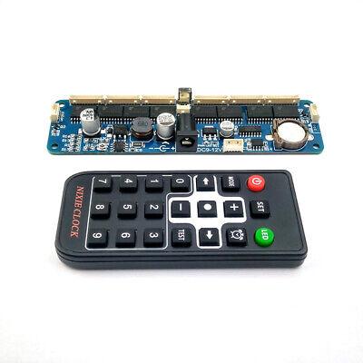 6-digit Nixie Tube Boardremote Nixie Tube Clock Kit For In12 In14 In18 Qs30-1